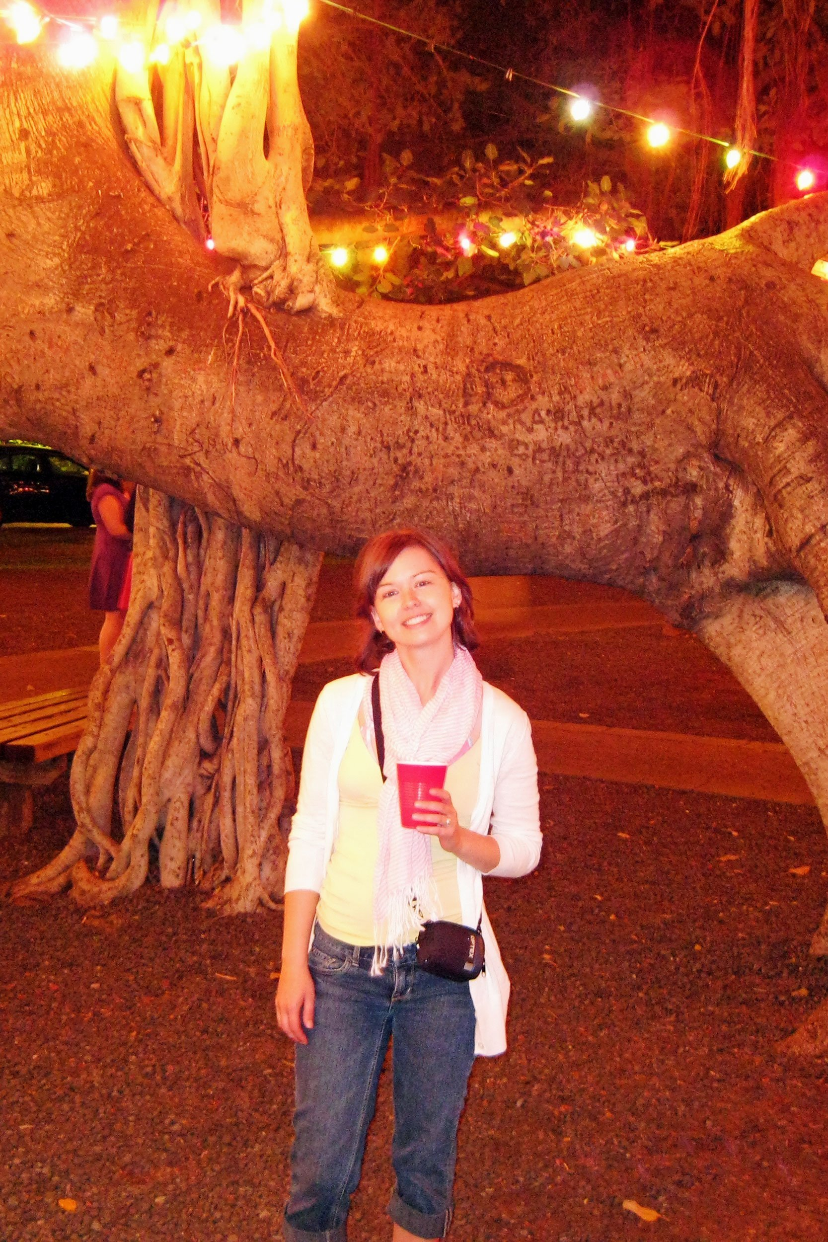 Evening under the Banyan Tree in Lahaina, Maui